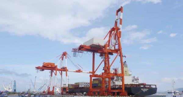 Cảng Quy Nhơn hoạt động bình thường trong thời gian phong tỏa tạm thời