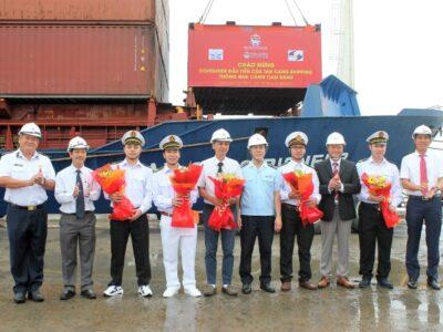 Cảng Cam Ranh khai trương mở tuyến container nội địa kết nối các cảng đầu mối Hải Phòng – Cam Ranh – Thành phố Hồ Chí Minh