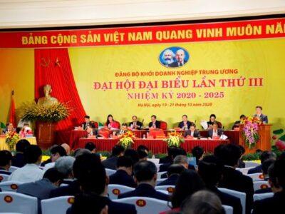 Đại hội đại biểu Đảng bộ Khối Doanh nghiệp Trung ương lần thứ III, nhiệm kỳ 2020 – 2025 họp phiên trù bị