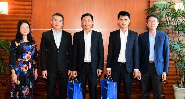 Lãnh đạo VIMC gặp gỡ và chúc mừng các chiến sỹ thi đua của Tổng công ty là đại biểu dự Đại hội thi đua yêu nước toàn quốc lần thứ X