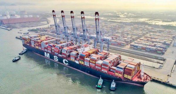 Sụt giảm tàu biển quốc tế đến Việt Nam