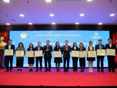 Công đoàn Tổng công ty Hàng hải Việt Nam tạo sự đoàn kết, gắn bó giúp doanh nghiệp vượt qua khó khăn