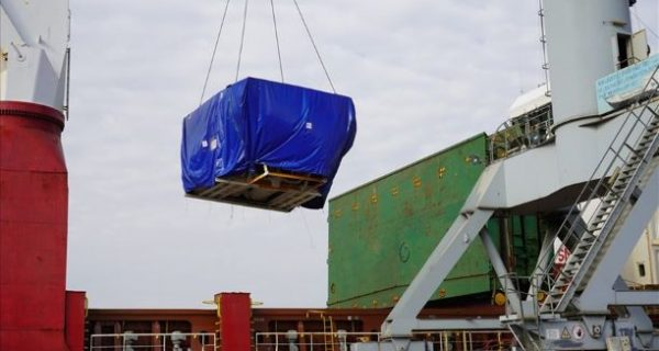 Rô bốt đào hầm cuối cùng của dự án Nhổn – Ga Hà Nội cập cảng Hải Phòng