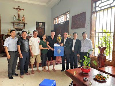 Lãnh đạo Tổng công ty thăm và chúc Tết các gia đình thuyền viên nhân dịp Xuân Tân Sửu 2021