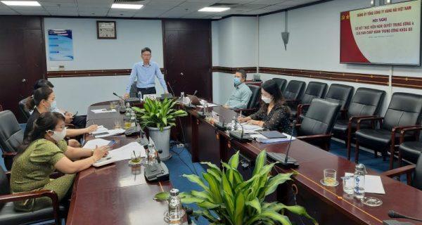Đảng bộ VIMC tổ chức Hội nghị sơ kết thực hiện Nghị quyết Trung ương 04 – Khóa XII