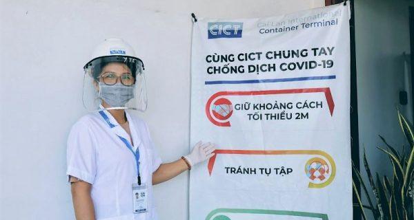 Người nữ y tá CICT tậm tâm với nghề