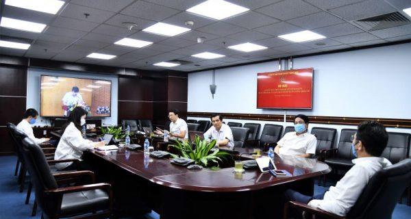 Đảng ủy VIMC tham dự trực tuyến Hội nghị sơ kết thực hiện Nghị quyết số 04-NQ/TW – Khóa XII