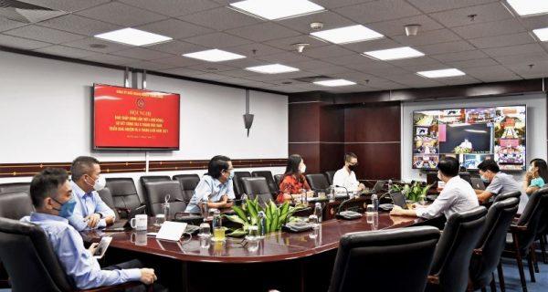 Đảng ủy VIMC tham dự trực tuyến Hội nghị Ban Chấp hành Đảng bộ Khối DNTW lần thứ 4 (Mở rộng)