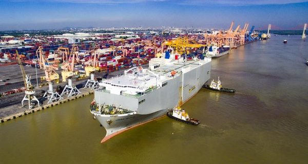 Cảng Hải Phòng tiếp nhận và khai thác tàu trên nguyên tắc an toàn tại cảng biển