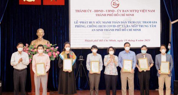 VIMC tham dự Lễ ra mắt Trung tâm hỗ trợ người dân gặp khó khăn do Covid-19