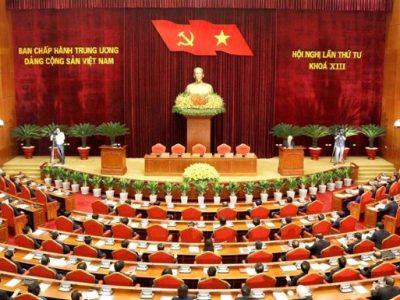 Đề cương thông báo nhanh kết quả Hội nghị Trung ương 4 khóa XIII